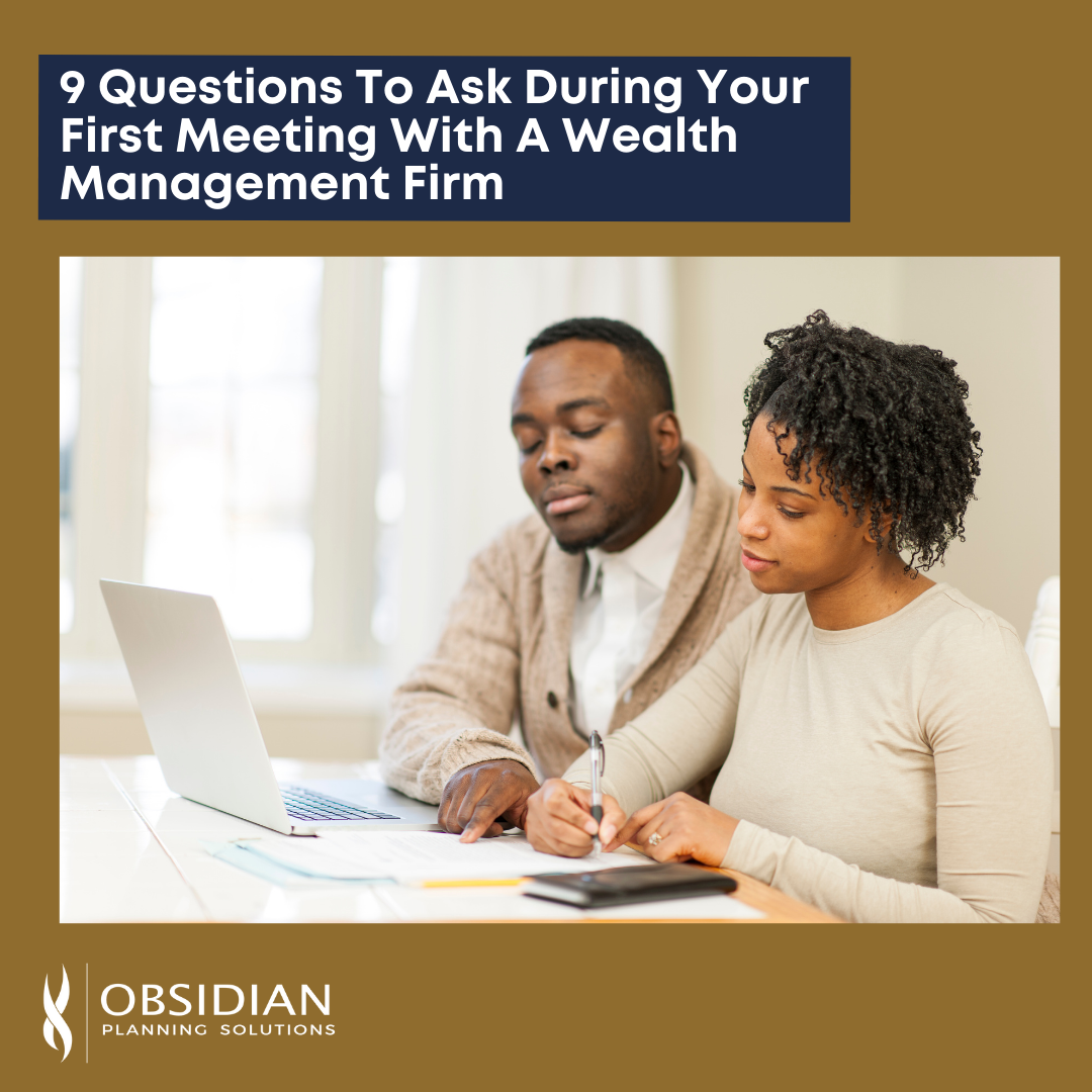 9 Questions For Wealth Management Meeting